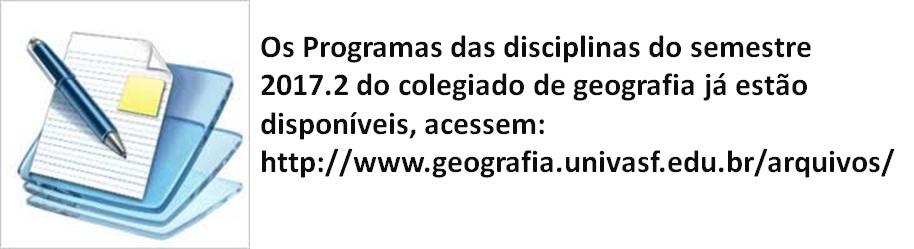 programas das disciplinas