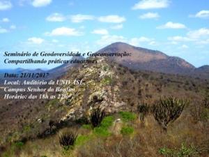 Evento Geodiversidade