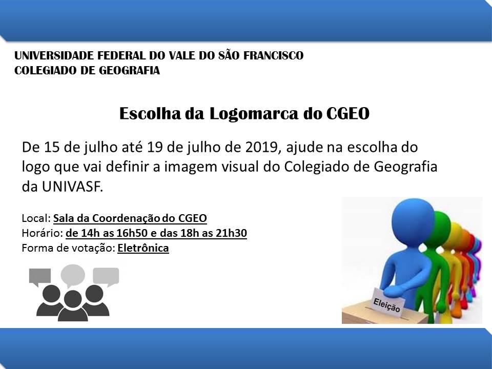Eleição da Logomarca do CGEO